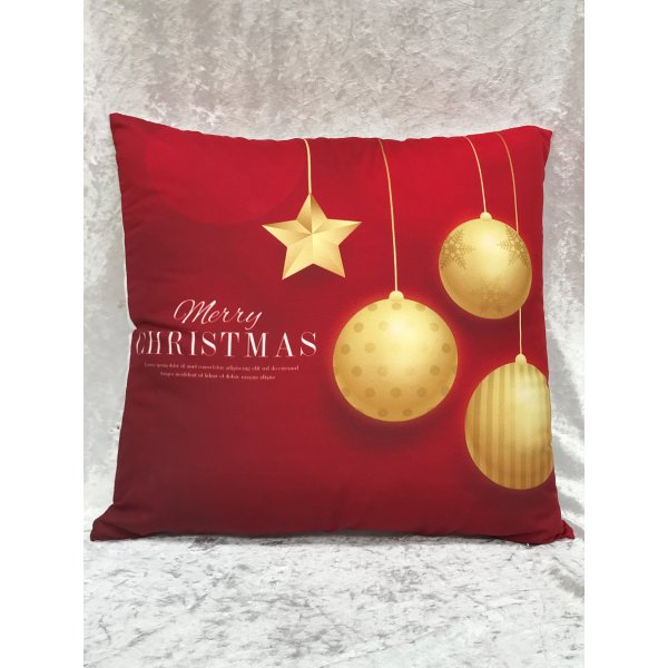 Christmas style Celebration Cushion Cover 45x45cm Polyester