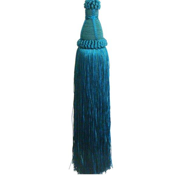 Tassel - Teal Blue 17cm