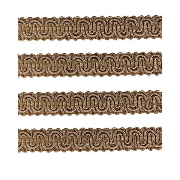 Upholstery Braid - Beige 1.3cm (Price is per metre)