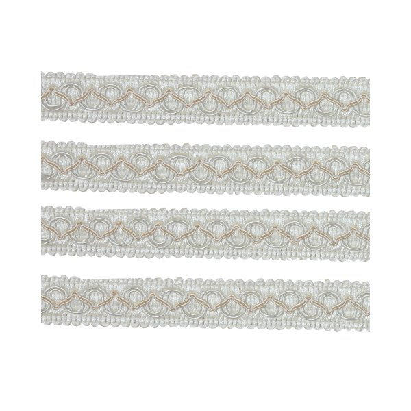 Fancy Braid - Cream 21mm (Price is per metre)