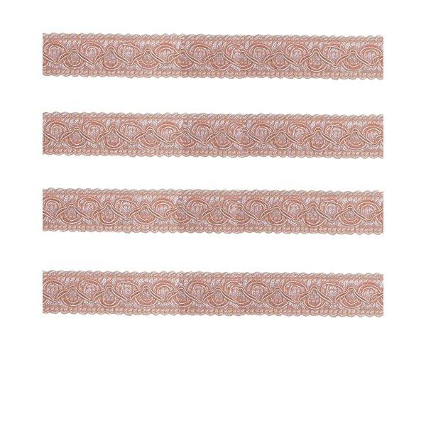 Fancy Braid - Pink 21mm (Price is per metre)