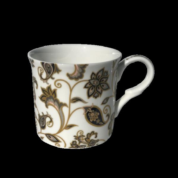 Jacobean White Design Mug NEW Heritage Brand Boxed300ml 10.5oz