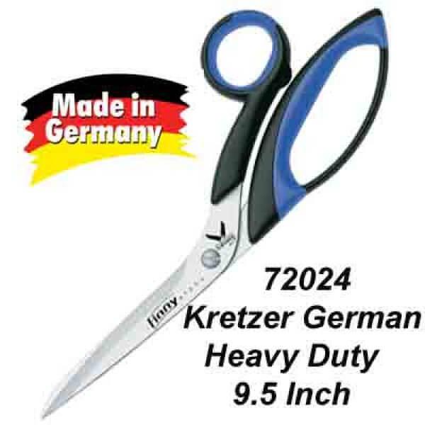 "72024 Kretzer German-made dressmaking/tailor scissors 9.5"""