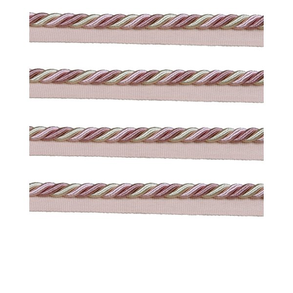 Piping Cord 8mm on Tape - Dusky Pink (Price is per metre)
