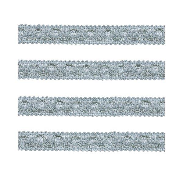 Ornate Braid - FRENCH SILVERY BLUE 20mm