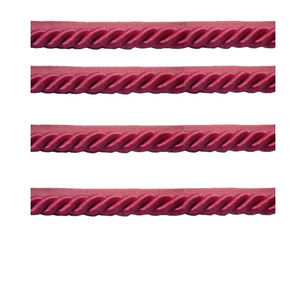 Piping Cord 8mm on Tape - Fuchsia Pink (Price is per metre)