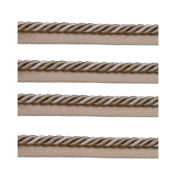 Piping Cord 8mm on Tape - Taupe (Price is per metre)