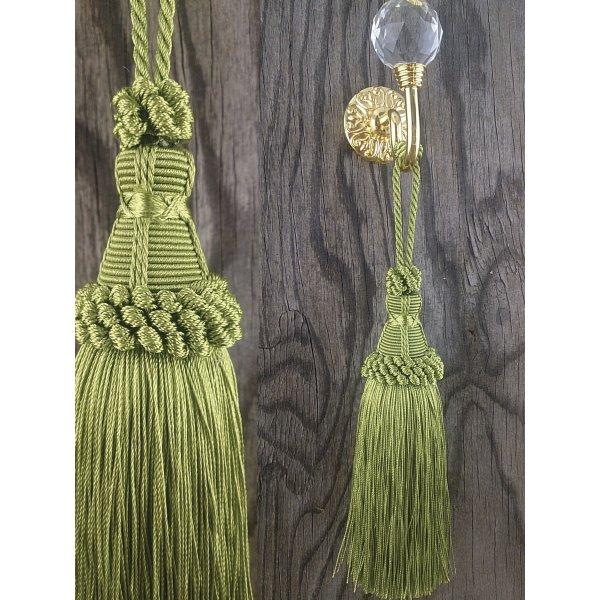 Tassel - Lime Green 17cm