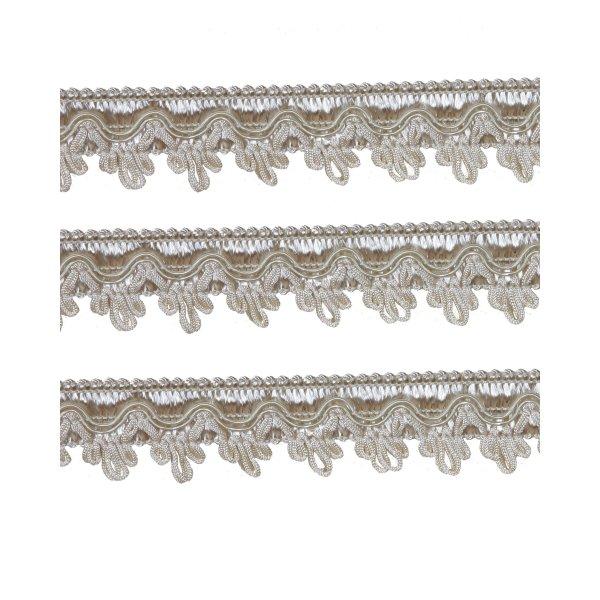 Large Fancy Braid - Cream 27mm (Price is per metre)