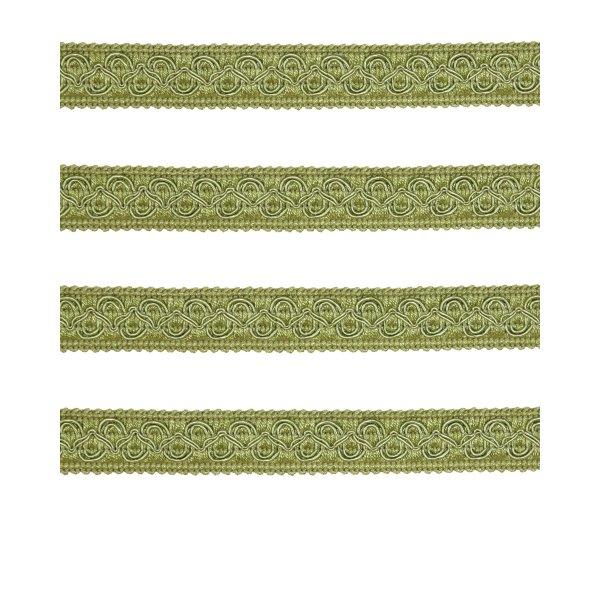 Fancy Braid - Antique Green 21mm (Price is per metre)