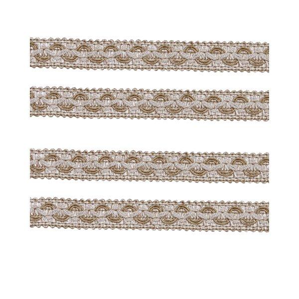 Ornate Braid - Beige 20mm (Price is per metre)