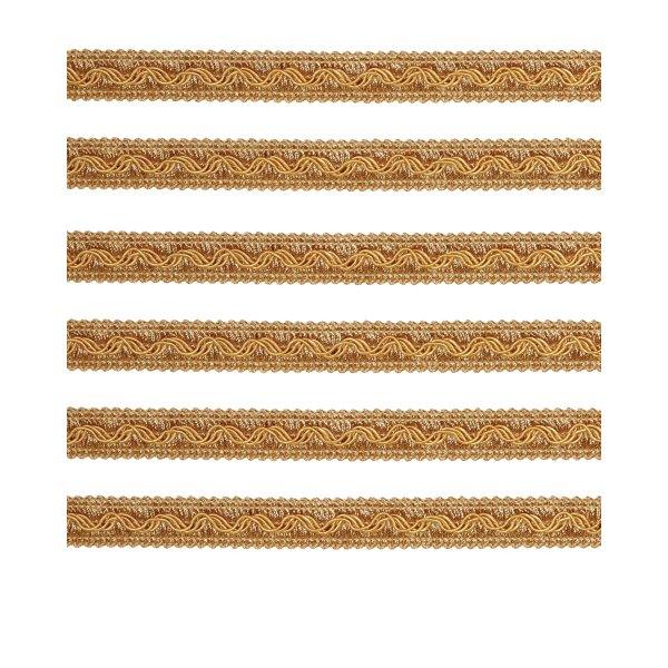 Fancy Braid - Gold 11mm (Price is per metre)