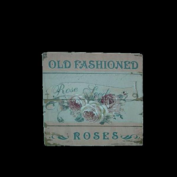 Canvas Print 24cm x 24cm - old roses