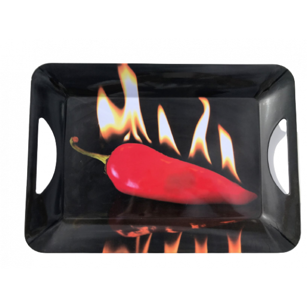 Hot Chili Design melamine Serving Tray New