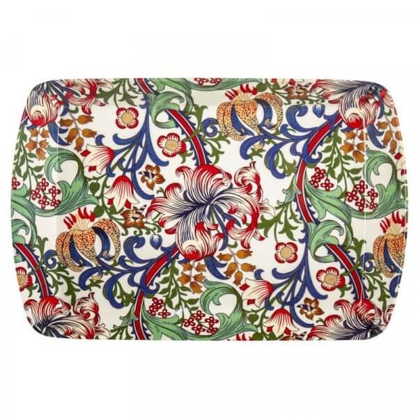 William Morris Lily Design melamine Scatter Pin Tray New 9.5cm x 6cm