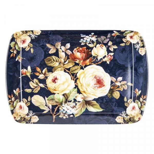 Rose Blossom Design melamine Scatter Pin Tray New 9.5cm x 6cm