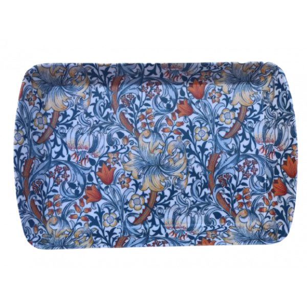 Blue Lily Design melamine Scatter Pin Tray New 9.5cm x 6cm