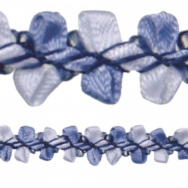 Rococo Trim - French Blue / Blue 10mm (Price is per metre)
